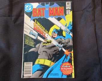 Batman #343 D.C. Comics 1982