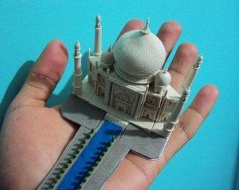 Taj Mahal in wax clay