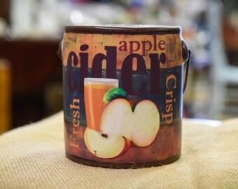 Apple Cider 20 oz Decorative Candle