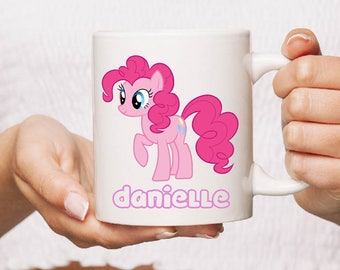 Pinkie pie my little pony Ceramic Mug Gift Coffee Mug Personalised Tea Cup