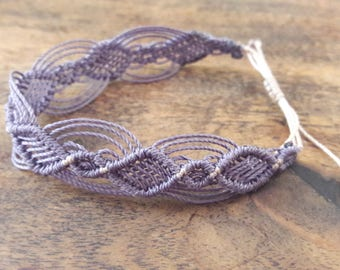 Bracelet macrame 2 colors