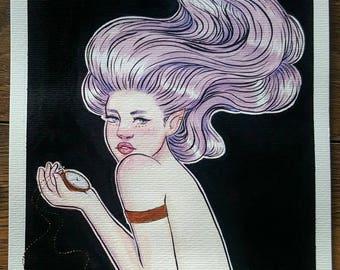 Mermaid - Original Painting