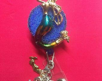 Multicolored mermaid