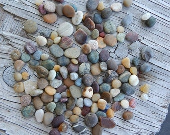 Tiny pebbles Washed by the Sea Jewelry Supplies Handmade Embellishments Terrariums Aquarium