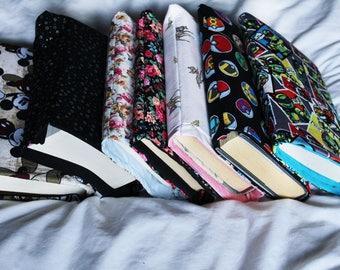 Waterproof Book sleeves, Choose your own size,
