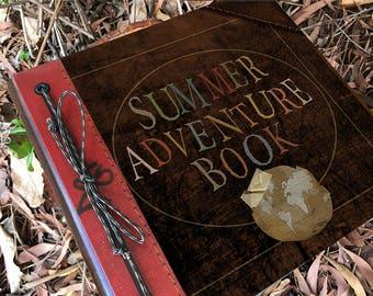 My Adventure Book, Our Adventure Book, Up Adventure Book, Stuff Iam goiing to do, Wedding Adventure, Handmade , Free Personalization, Travel