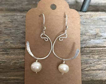 Fresh Water Pearl - Sterling Silver Wire & Ear Wires