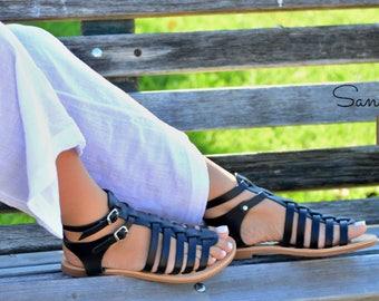 Sandals,Leather sandals,Greek sandals,Handmade sandals,Gladiator sandals,Summer  sandals, Women's Sandals,  PENELOPE