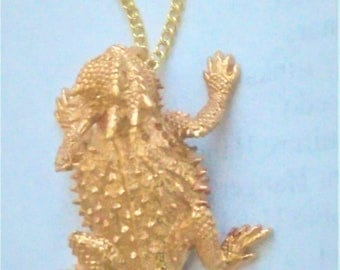 Horny Toad Necklace