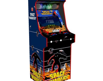 Classic Upright Arcade Machine with 680 Games Space Invaders Theme