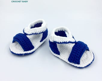 Sandal Baby Shoes, Crochet Baby Shoes, Handmade Baby Shoes
