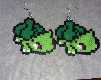 Pokemon Sprite Perler Bead Earrings