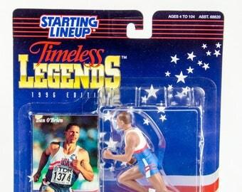Starting Lineup 1996 Timeless Legends 92 Olympics Dan O'Brien Action Figure