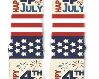 Fourth of July Socks