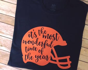 Most wonderul time of the year football tee