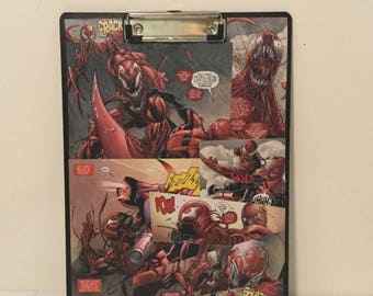 Marvel Clipboard/ Carnage Clipboard/ Geek Clipboard