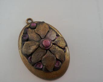 Vintage hand made pendant