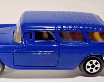 Vintage ERTL 55 Chevy Wagon Replica Toy Car Collectible 1:64