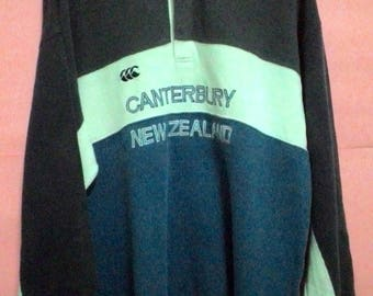 Free shipping... 90's Vintage Canterbury Of New Zealand Sweatshirt Medium size