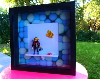 "Frame Playmobil ""Diver"""