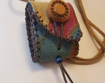 Handmade Medicine Pouch Necklace - Belt Pouch