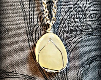 Champagne Quartz Natural Gemstone Necklace