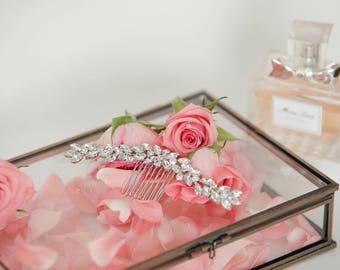 Stella Marquis Crystal Bridal Haircomb