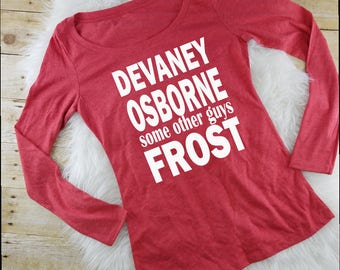 Husker womens shirt, nebraksa huskers, devaney osborne some other guys frost, scott frost shirt, nebraska shirt, husker shirts, nebraska