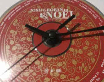 Josh Groban CD Clock - Noel