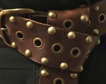 Game of thrones/cosplay/medievil Big Belt!!