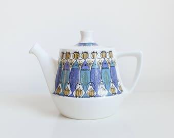 Vintage Figgjo Flint Clupea Teapot