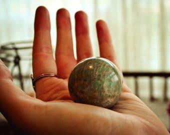 Amazonite Sphere