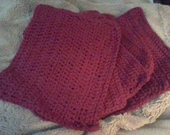 Cotton Hand Crocheted Wash Cloths/Dish Cloths