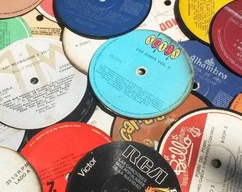 Vinyl Coasters (recycled)