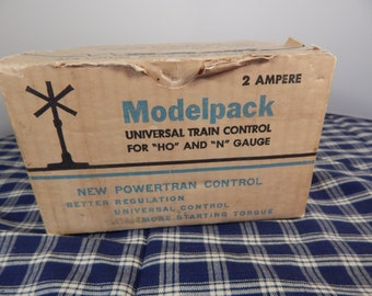 Toy Transformer, Universal Train Control, ModelPack, Ho and N Gauge,   Allstate Power Pack