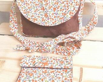 Shoulder bag + coin for child