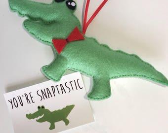 Crocodile hanging Plushie