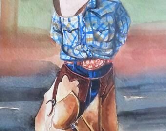 Practicing Cowboy