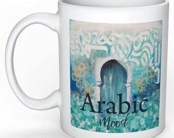"mug ""Arabic mood"""