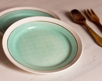 Dinner plates Estampillees Longchamp France