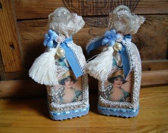 Set of vintage perfume bottles