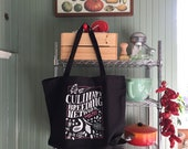 NEW Culinary Breeding Network Flavor Begins with Seed tote bag