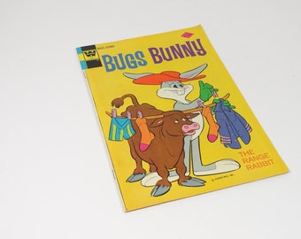 1962 Bugs Bunny The Range Rabbit Comic Book No 159 Vintage Bugs Bunny