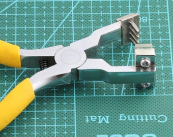 DIY Leather Craft Tools Hole Punches Stitching Tool