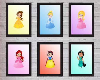 1x Disney princess print