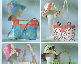 Butterick 4532 - Handbags, Totes & Matching Hats