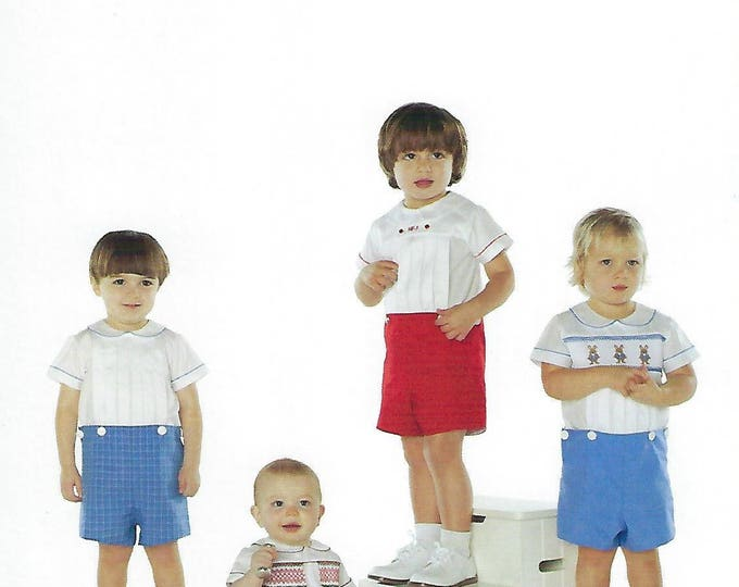 Featured listing image: Children's Corner Sewing Pattern #7 / BASICS FOR BOYS / Sizes 3 mos - 3
