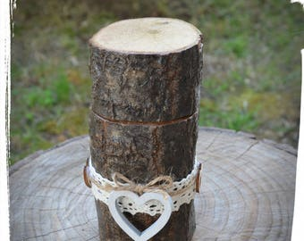 Wooden ring box-Wooden ring box