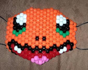 Fire Pocket Monster Bead Mask