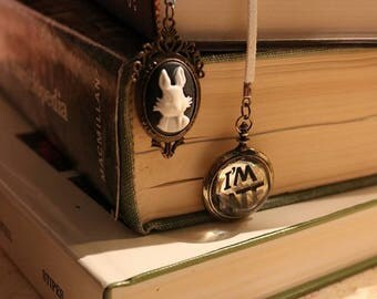 The White Rabbit Bookmark